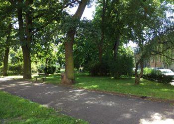 Park u DS Jihlava.